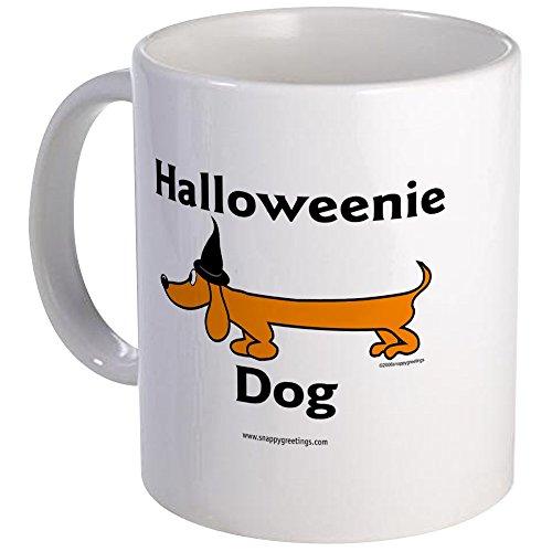 [CafePress - Halloweenie Dog Mugs - Unique Coffee Mug, Coffee Cup] (Weenie Costumes)
