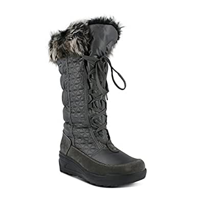 Amazon.com | Spring Step Women's Fotios Snow Boot, Gray
