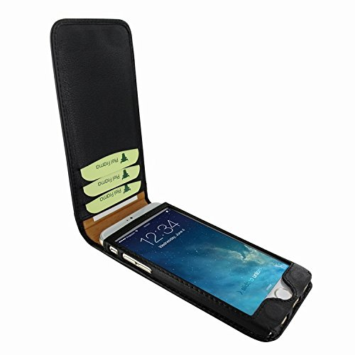 Piel Frama 689 Black Magnetic Leather Case for Apple iPhone 6 Plus / 6S Plus by Piel Frama (Image #1)