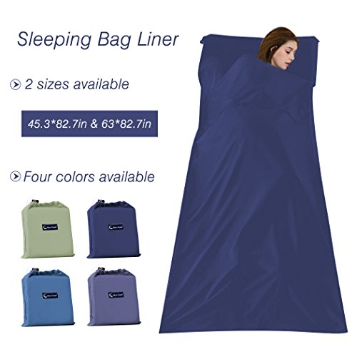 Sleeping Bag Liner Compact Sleep Bag Lightweight Travel Sheet Camping Sheets Sleep Sack
