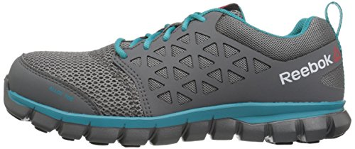 Grey RB045 US Women's Work Sublite 5 10 Boot M Reebok Cushion Turquoise Yqp4tww