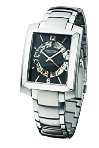 Kenneth Cole KC3774 - Reloj analógico de caballero automático con correa de acero inoxidable plateada