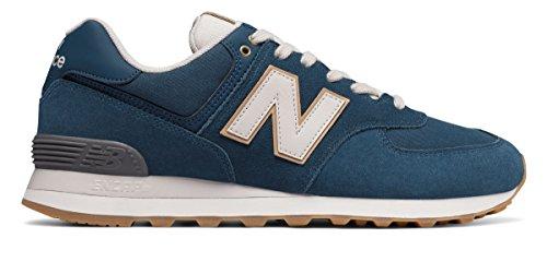 傾いた皮失望させる(ニューバランス) New Balance 靴?シューズ メンズライフスタイル 574 Natural Outdoor North Sea with Moonbeam シー US 11.5 (29.5cm)