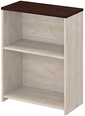 Bush Furniture Townhill 2 Shelf Bookcase