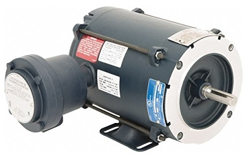 1/3 hp 1,800 Max RPM Explosion Proof Motor 56C NEMA Frame, 230/460 Volts, 7637; Efficiency at Full Load