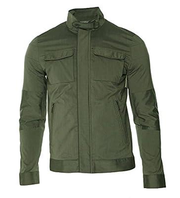 Calvin Klein Men's Pinstripe Cotton Blend Jacket