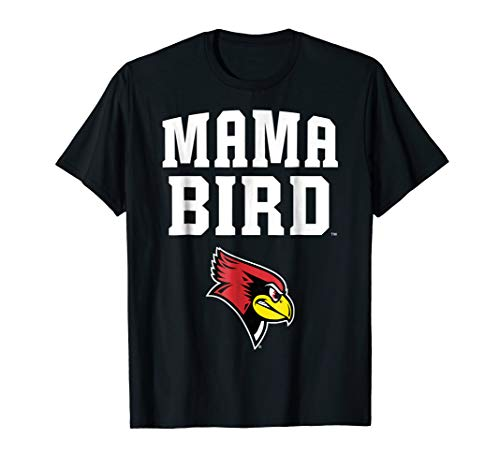 Illinois State Red Birds Baseball - Illinois State Redbirds Mama Bird T-Shirt - Apparel