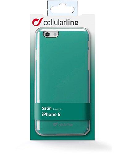 CELLULAR LINE CSATINIPH647G Rigid Satin Tasche für Apple iPhone 6/6S (11,9 cm (4,7 Zoll)) grün