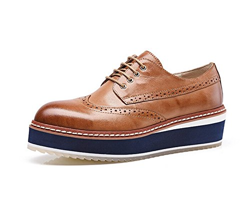 Oyangs Oxford Women Oxford Shoes Oxford Heels Oxford Shoes For Women Leather Shoes E215 G UW4g3