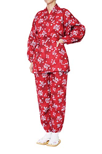 あいまいなレオナルドダ小包作務衣 女性 美桜みお 作務衣 綿100% 当店オリジナル