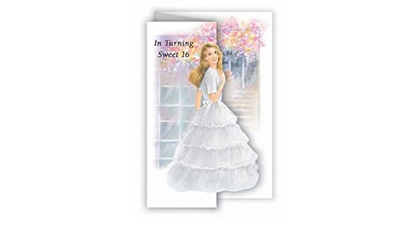 Amazon Com Quinceanera Invitations Beautiful English Sweet 15