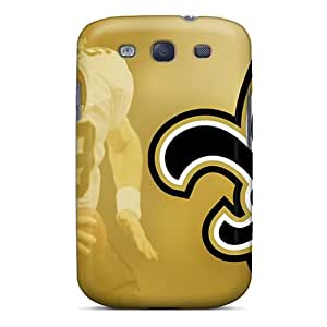 AaronCharming Snap On Hard Case Cover New Orleans Saints Protector For Galaxy S3
