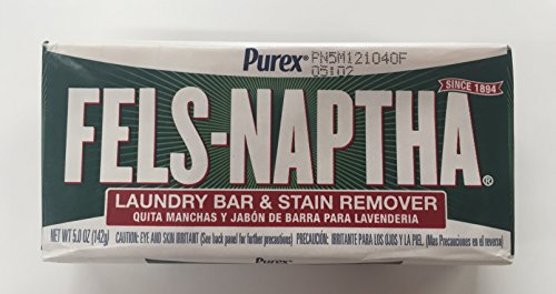 Dial Manufacturing Fels-Naptha Laundry Bar Soap (Pack of 6)