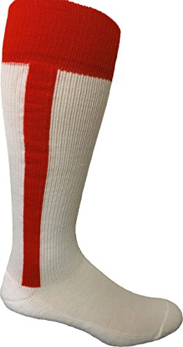Pearsox 2-n-1 Uniform Socks, Stirrup, INTERMEDIATE Scarlet