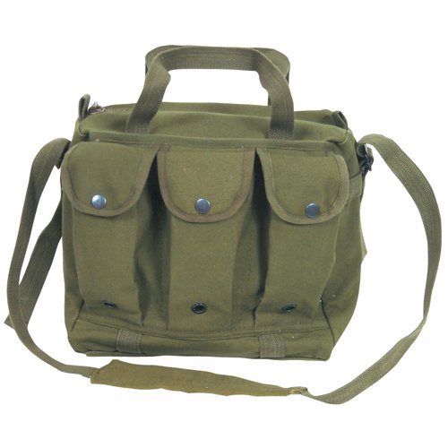 Fox Outdoor Products Mag/Shooter's Bag, Olive Drab