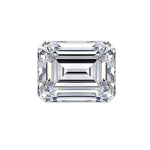 LOTUS MAPLE Lab diamond moissanite stone emerald cut 0.2CT to 12CT best quality D color VVS1 with a certificate for rings, necklaces, watches, etc. from LOTUS MAPLE