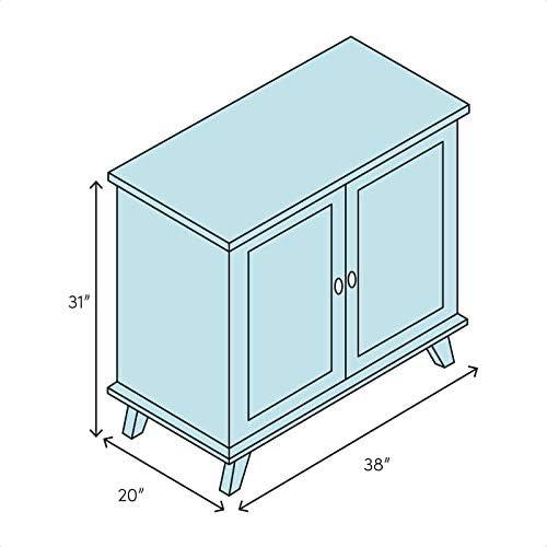 Amazon Com Holli 2 Door Accent Cabinet Kitchen Dining