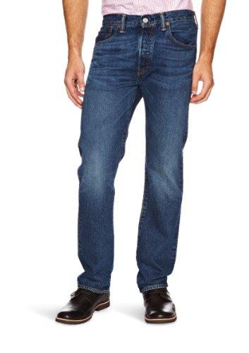 Levi's Herren 501 Original Straight Fit Jeans, W32/L32, Blau (Hook)