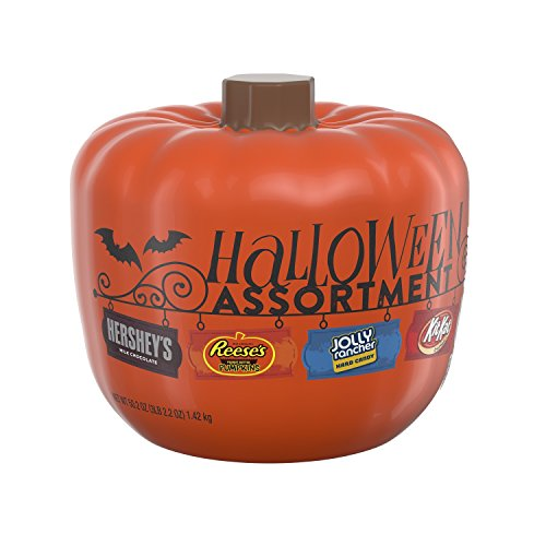 HERSHEY'S Halloween Assortment Pumpkin Bowl (50.2-Ounce)
