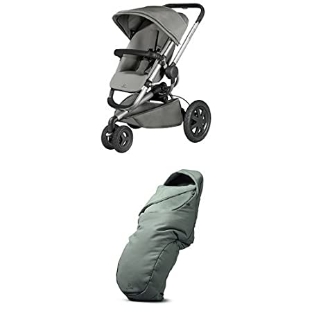 Quinny Buzz Xtra 3 Wheel Pushchair, Silver Frame, Red Rumour 79659240