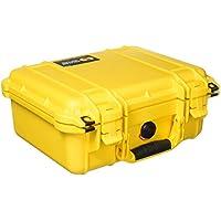 Pelican 1400 Case No Foam (Yellow)