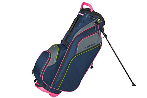 Datrek Unisex Go Lite Hybrid Stand Bag Navy/Pink/Lime