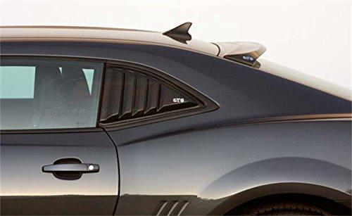 GT Styling GT4816S Quarter Window Louver Smoke 2 pc. Quarter Window ()
