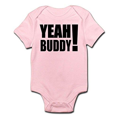 CafePress Yeah Buddy! (Black) Infant Bodysuit Cute Infant Bodysuit Baby Romper