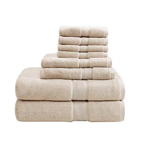 Madison Park MPS73-190 800Gsm 100 Percent Cotton Towel44; Na