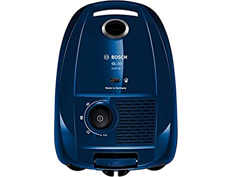 Bosch GL30 - Aspirador de trineo con bolsa, 2200 W, regulador electrónico de potencia, capacidad 4 l, tratamiento del aire