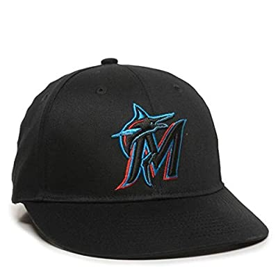 OC Sports 2019 MLB Season Miami Marlins Hat Official Replica Adult Baseball Cap Adjustable