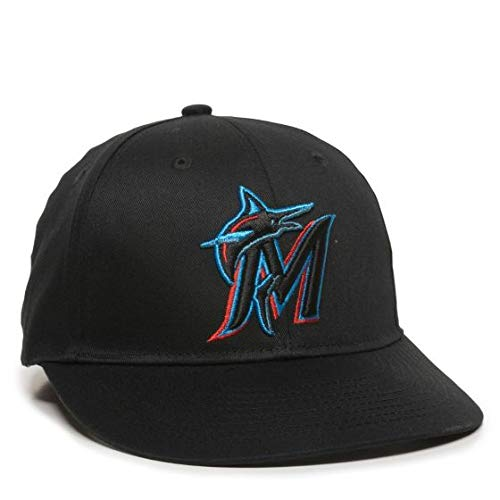 OC Sports 2019 MLB Season Miami Marlins Hat Official Replica Adult Baseball Cap Adjustable ()