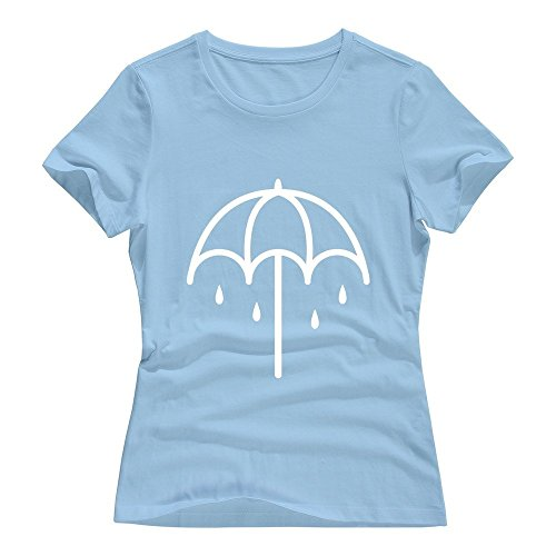 SkyBlue VAVD Lady's Bring Me The Horizon 100% Cotton T-shirt Size XL]()