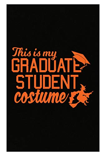 Merch Chimp Funny Grad Student Costume for College Students Funny Halloween Design - Poster ()