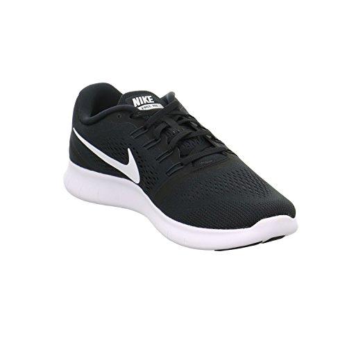 NIKE Men's Free RN, Black/White-Anthracite, 7 M US by Nike (Image #3)