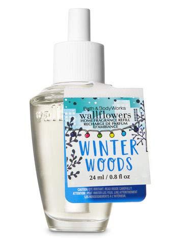 便益傷つけるスキーム【Bath&Body Works/バス&ボディワークス】 ルームフレグランス 詰替えリフィル ウィンターウッズ Wallflowers Home Fragrance Refill Winter Woods [並行輸入品]