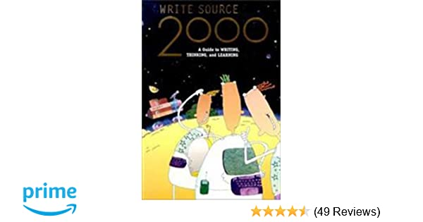 Amazon write source 2000 a guide to writing thinking and amazon write source 2000 a guide to writing thinking and learning 9780669467741 great source books fandeluxe Gallery