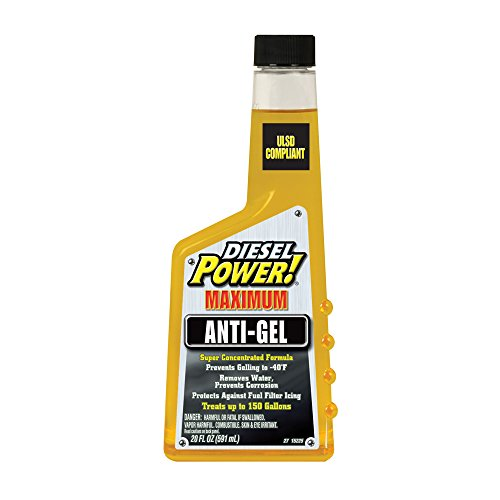 Diesel Power! 15225-6PK Fuel Anti-Gel – 20 oz., (Pack of 6)
