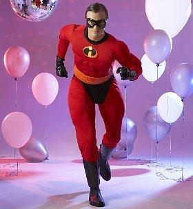 Mr Incredible Costume Size Small/Medium & Mr Incredible Costume Size Small/Medium: Amazon.co.uk: Toys u0026 Games