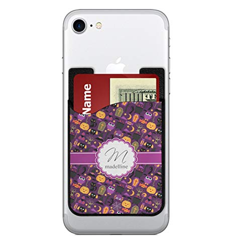 YouCustomizeIt Halloween 2-in-1 Cell Phone Credit Card Holder & Screen Cleaner (Personalized)