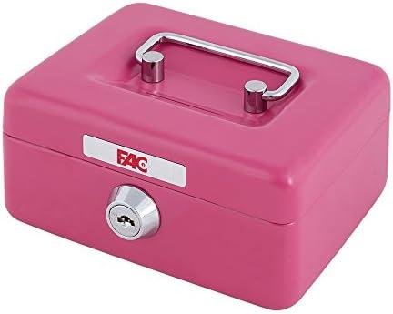 FAC 17015 Caja de caudales, Rosa: Amazon.es: Bricolaje y herramientas