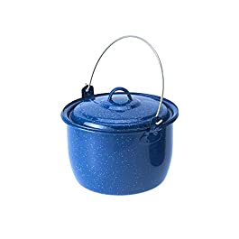 GSI Outdoors 4.25 qt. Convex Kettle, Blue