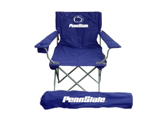 Cheerleaders Yell And Jump Around, But You Can Show Your Spirit By Simply  Sitting And. Rivalry NCAA Penn State Nittany Lions Adult Chair