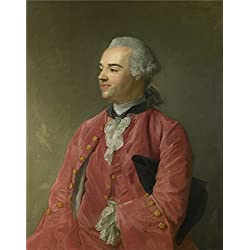 Oil Painting 'Jean Baptiste Perronneau Jacques Cazotte', 10 x 13 inch / 25 x 32 cm , on High Definition HD canvas prints is for Gifts And Bar, Gym And Living Room Decoration, pictures
