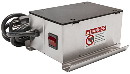 MAG-MATE DSC423-120 Continuous Duty Surface Demagnetizer with Cord Plug, 120 VAC/2.1 Amp/6' -