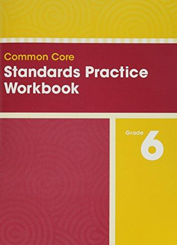 COMMON CORE STANDARDS PRACTICE WORKBOOK GRADE 6