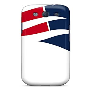 [bqA2489UXiH]premium Phone Case For Galaxy S3/ New England Patriots Tpu Case Cover
