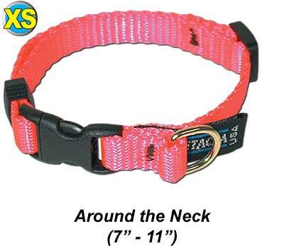 Collar, Adjustable Quick Release Extra Small bluee Pet Dog Collar by Pet Gear