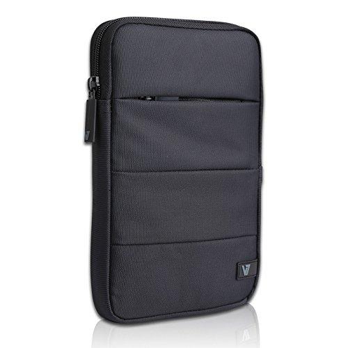 V7 Cityline Schutzhülle Tablettasche Anti-Shock für Tablet bis 20,3cm (8 Zoll) Schwarz