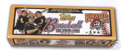 MLB Pittsburgh Pirates 2006 Topps Complete Factory Set